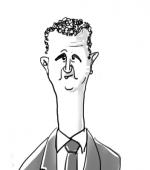 Caricature Bachar El Assad