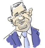 Caricature Castaner